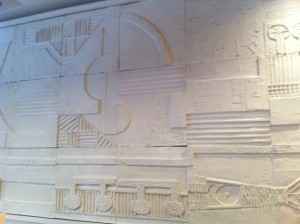 Jazzhus Montmartre: original wall sculpture